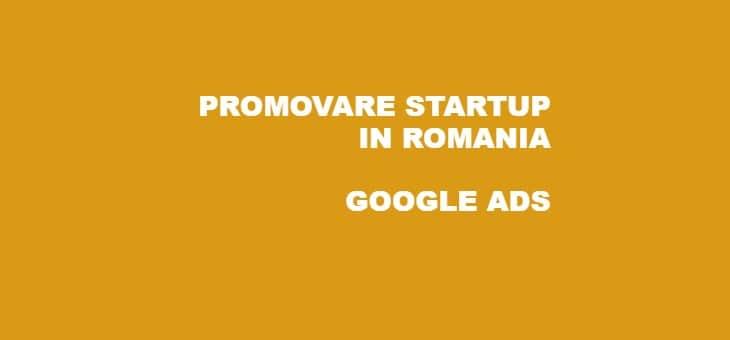 Promovare StartUP Romania