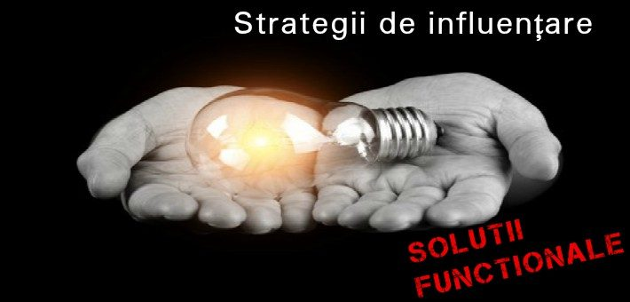 Strategii de influentare