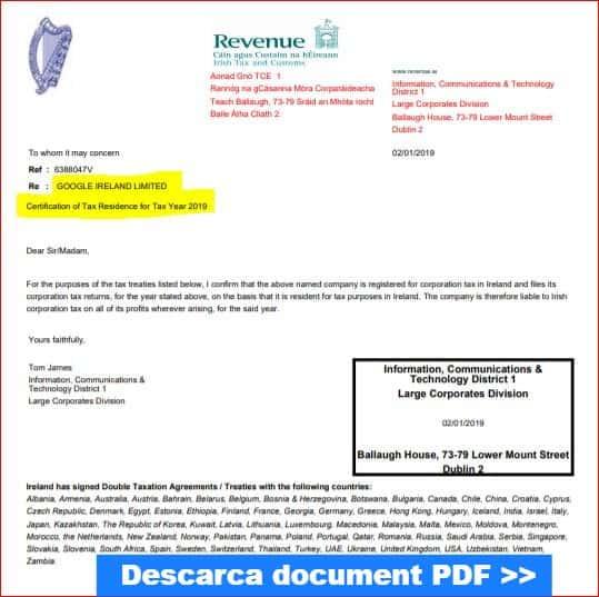 download-certificat-rezidenta-fiscala-google-2019