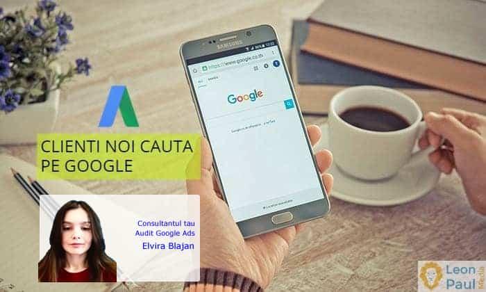 Consultant Audit Google Ads Elvira Blajan